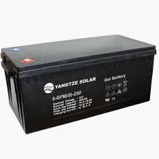 باتری خورشیدی ژل