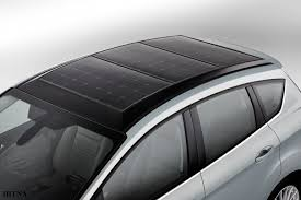 باتری خورشیدی خودرو