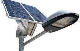 باتری خورشیدی چراغ