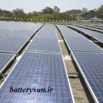 انواع باتری خورشیدی