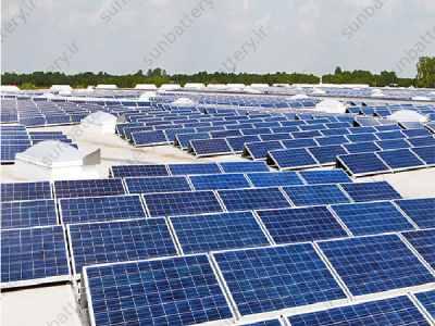 نیروگاه خورشیدی کوچک