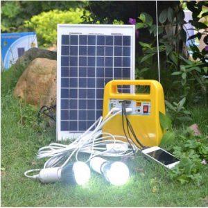 باتری خورشیدی قابل حمل