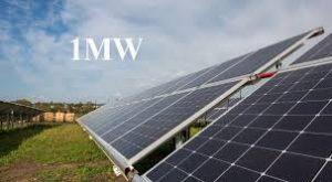 عرضه نیروگاه خورشیدی یک مگاواتی