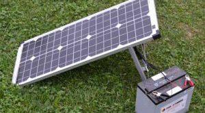 قیمت خرید باتری صفحه خورشیدی
