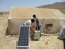 قیمت پنل خورشیدی عشایری